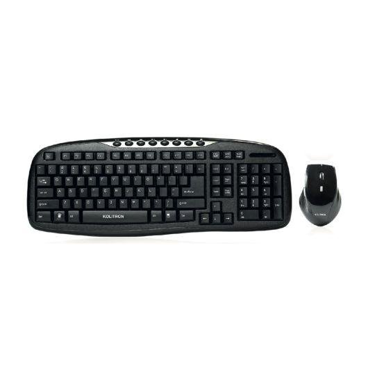 Kolitron - Wireless Multimedia Keyboard Combo