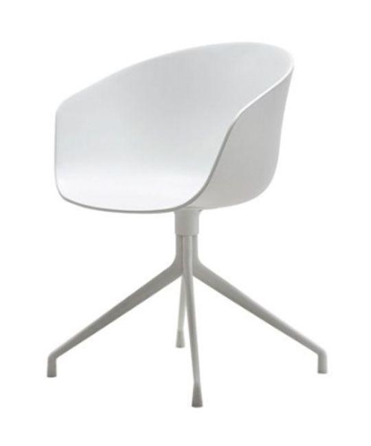 Mad Chair - Replica Hay Chair Steel Leg - White
