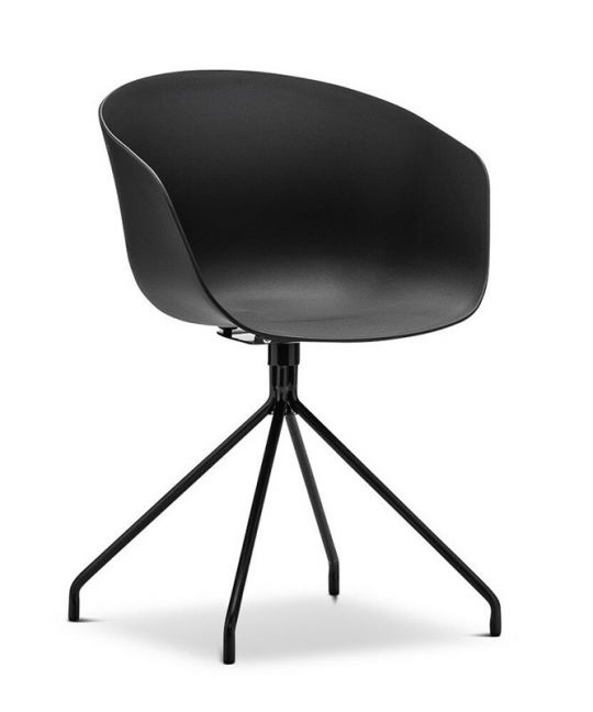 Mad Chair - Replica Hay Chair Steel Leg- Black