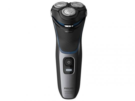 Philips - AquaTouch 3000 Series Wet or Dry electric shaver 3HD W/Trim (No pouch)