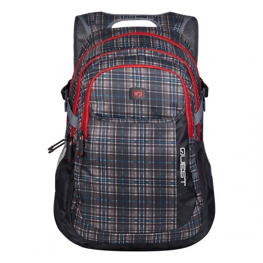 Quest - Metro Backpack Grey/Red
