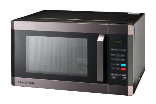 Russell Hobbs - RHEM42g Elec Silv Mirr Fin Microwave 42L