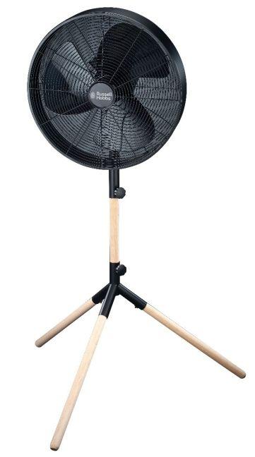 Russell Hobbs - RHMPF4 RH Black Tripod Pedestal Fan