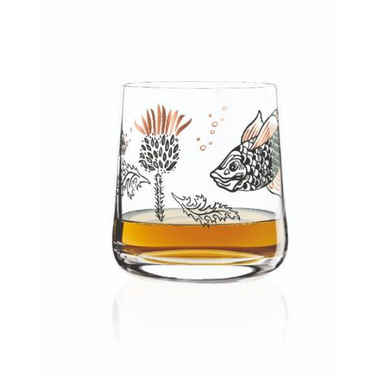 Ritzenhoff - Whisky Glass Thistle O.Hajek (Fish)