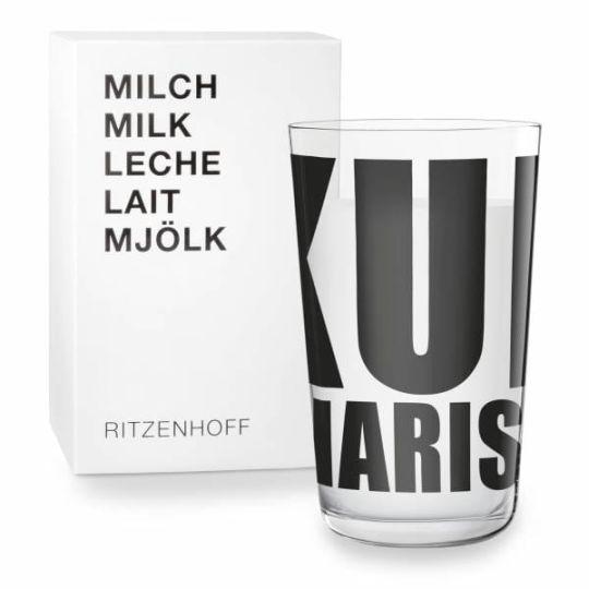 Ritzenhoff - Milk Glass Pentagram