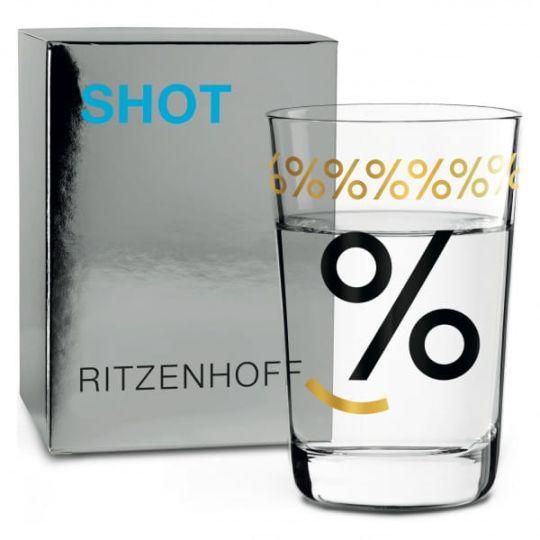 Ritzenhoff - Next Shot schnapps glass C. Van. Ommen