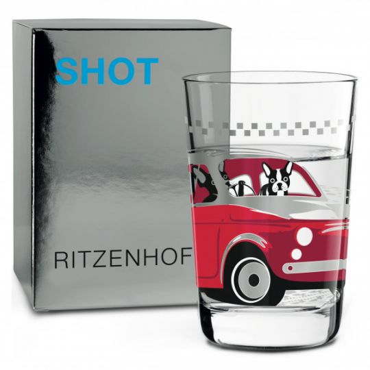 Ritzenhoff - Next Shot schnapps glass A. St James(Frenchie) 18A
