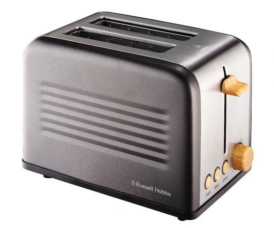 Russell Hobbs - RHTAB2S-8 2 Slice Metal Tin Toaster