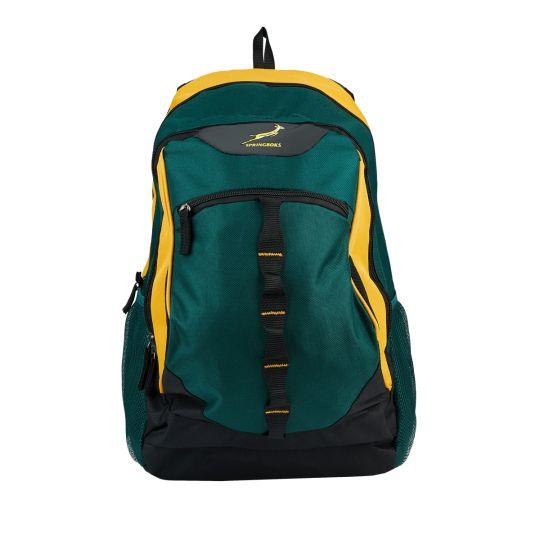 Springbok - Flanker 28L Daypack Green/Gold.