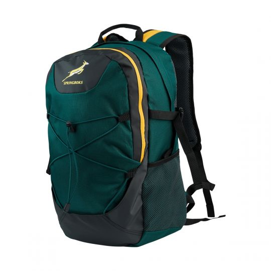 Springbok - Sidestep 28L Backpack  Green/Gold