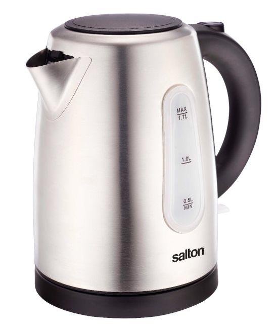 Salton - Seck43 1.7l Stainless Steel Kettle