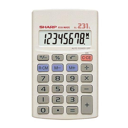 Sharp - EL231 LB Pocket Calculator