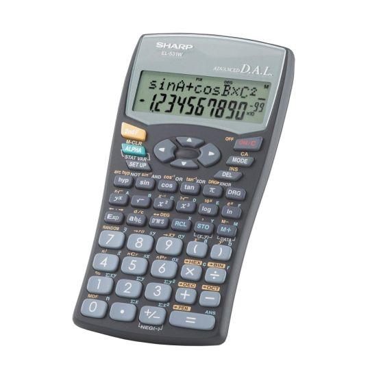 Sharp - EL531 WH-BK Scientific Calculator