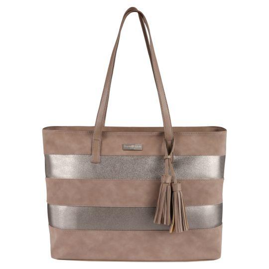 Supanova - Tassles Ladies Laptop Bag Taupe