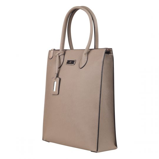 SupaNova - Tamara Ladies Laptop Handbag – Taupe