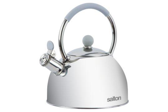 Salton - SSTK2.5 Whisltling Stove Top Kettle White