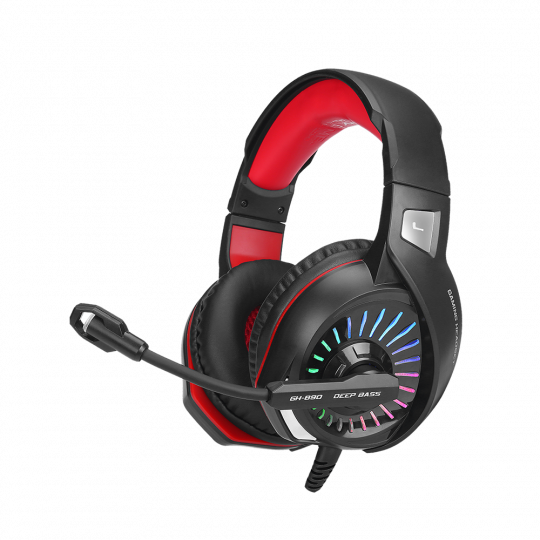 XTRIKE - Gaming Headset with RGB light GH-890 PC, PS4, Xbox One, cable 2.2m