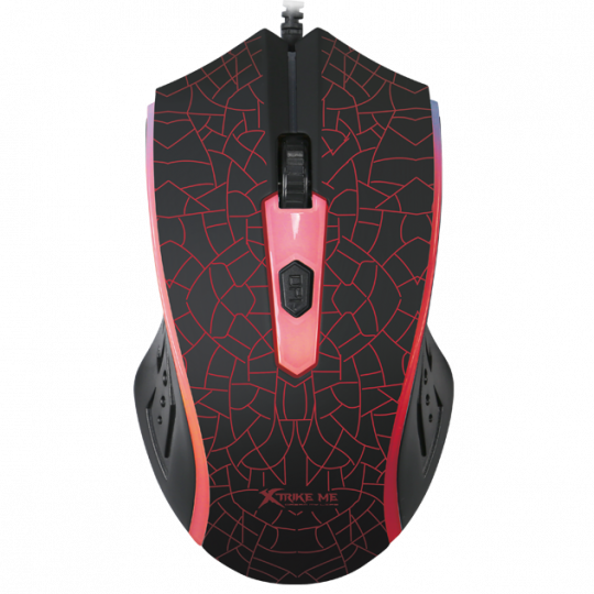 XTRIKE - 4D, 1200DPI Wired Optical Gaming Mouse