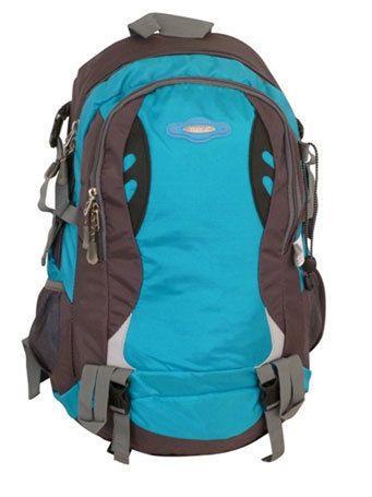 Tosca - 32L Framed Sport Hiking Backpack (Grey/Blue)