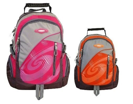 Tosca - Sports Nylon Backpack (Pink)