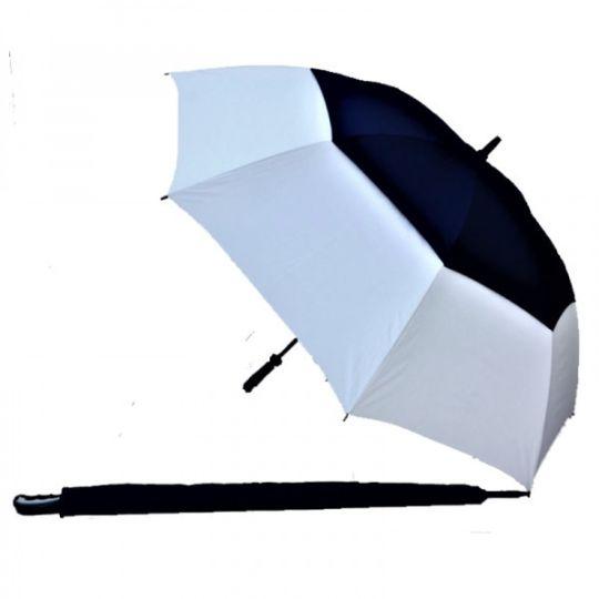 Navy/White UV Gustbuster Golf Umbrella - Fibre