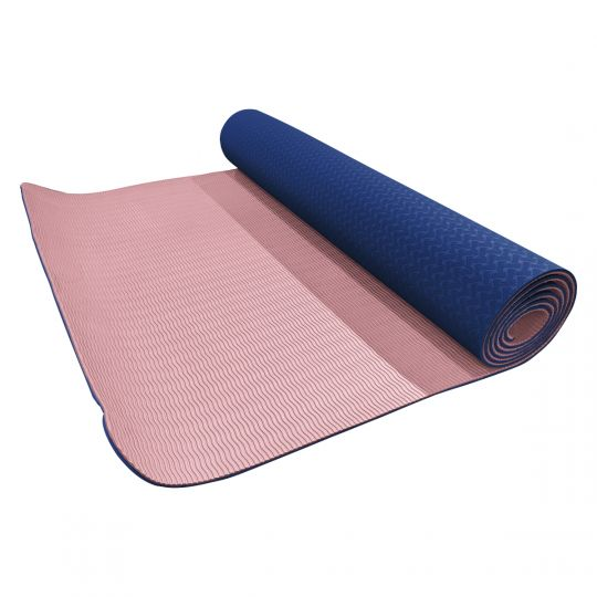 Volkano - Active Non Slip TPE Yoga Mat Pastel Pink