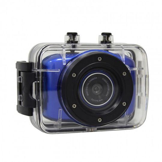 Volkano - LifeCam HD Action Camera (Blue)