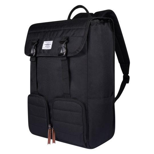 Volkano - Oxford Laptop Satchel - Black