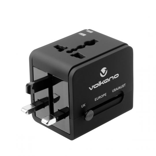 Volkano - International Series Travel Adaptor Plug