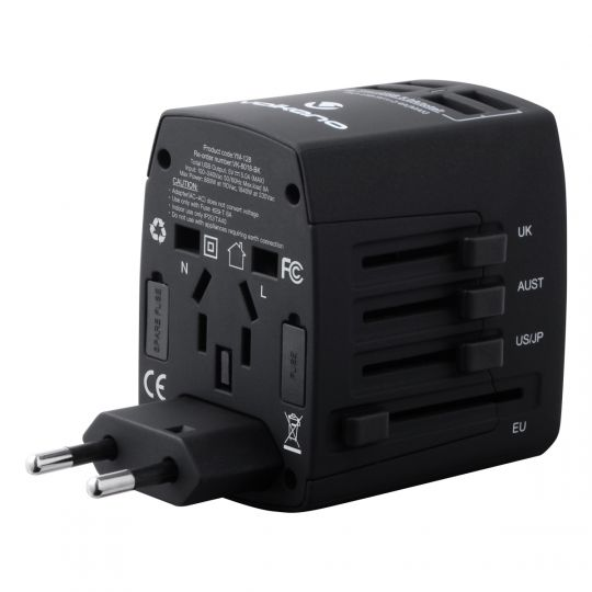 Volkano - Worldwide Series Travel Adaptor Plug