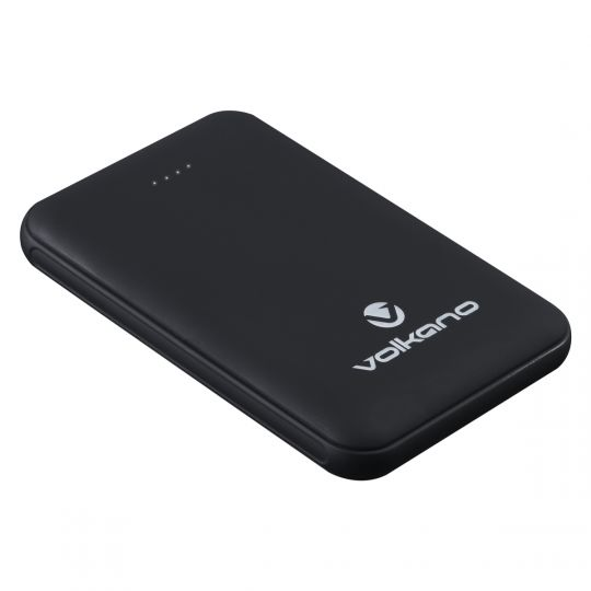 Volkano -Nano Series 5000 mAh Li-Po Powerbank - Black