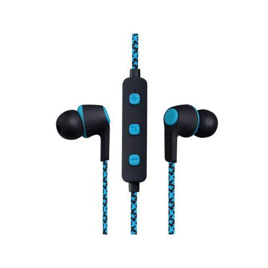 Volkano - Moda- Nylon Bluetooth Earphones with Carry case- BL