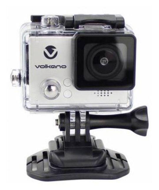 Volkano - Lifecam Plus series action camera - silver