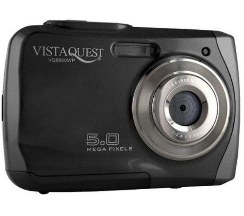 Vistaquest - Waterproof Digital Camera 5MP Black